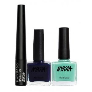 Buy Nykaa Blue Tone Eyes & Nails Combo - Nykaa