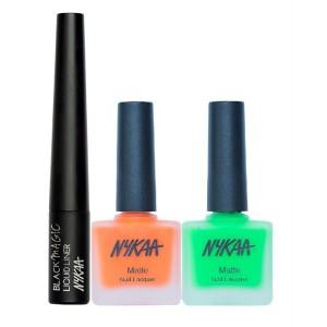 Buy Nykaa So Outta Lime Eyes & Nails Combo - Nykaa
