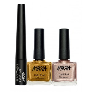 Buy Nykaa Shine Whole Day Eyes & Nails Combo - Nykaa