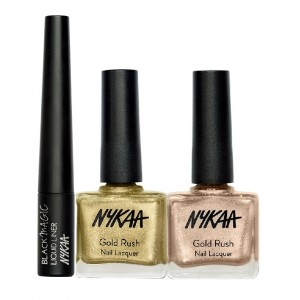 Buy Herbal Nykaa Golden Bar Eyes & Nails Combo - Nykaa