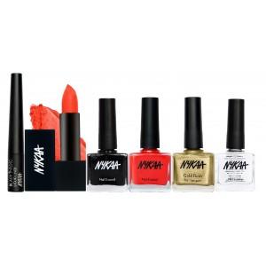 Buy Nykaa Girl's Precious Set Eyes Lips & Nails Combo - Nykaa
