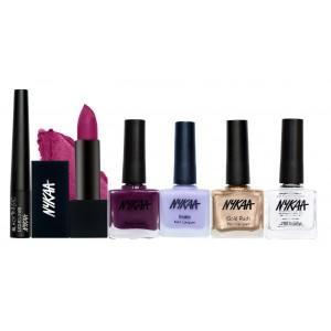 Buy Nykaa Good Choice Eyes Lips & Nails Combo - Nykaa