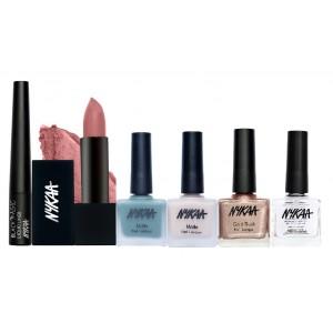 Buy Nykaa Fashion Colours Eyes Lips & Nails Combo - Nykaa