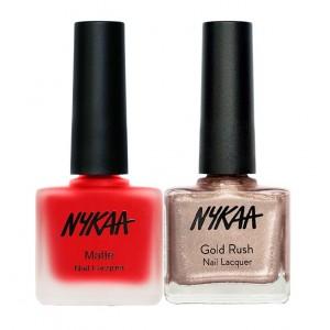 Buy Nykaa Doin' Like Midas Nail Combo - Nykaa
