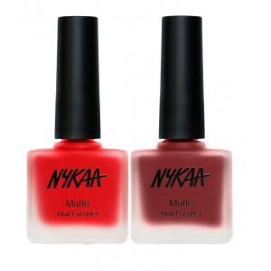 Buy Nykaa Paint Me Red Nail Combo - Nykaa