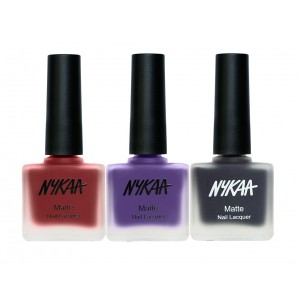 Buy Nykaa Set In Stone Nail Combo - Nykaa