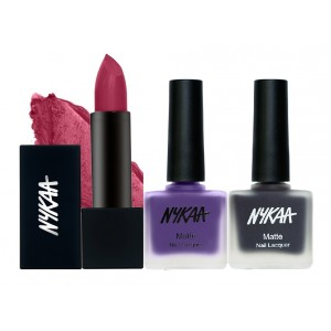Buy Herbal Nykaa Deepest Desires Nail and Lipstick Combo - Nykaa