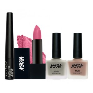 Buy Herbal Nykaa Sweater Weather Eyes Lips & Nails Combo - Nykaa