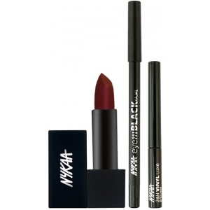 Buy Nykaa Very Bold Eyes & Lips Combo - Nykaa