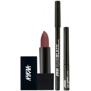 Buy Nykaa Ready For A Party Eyes & Lips Combo - Nykaa