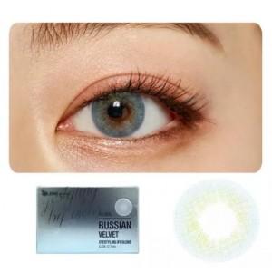 Buy O-Lens Russian Velvet Contact Lenses - Blue - Nykaa