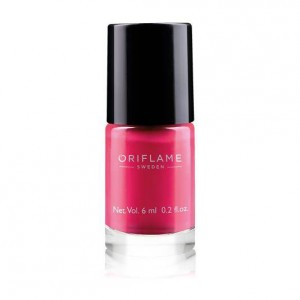 Buy Oriflame Pure Colour Nail Polish Mini - Coral Orange - Nykaa