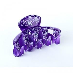 Buy Papillon Butterfly Floral Hair Clip Medium - Purple - Nykaa