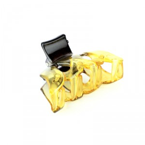 Buy Papillon Butterfly Hair Clip Small - Yellow - Nykaa