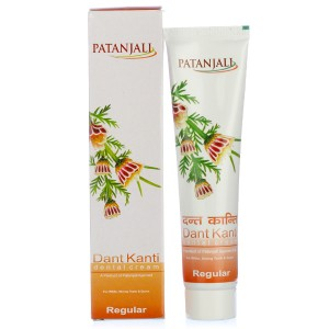 Buy Herbal Patanjali Dant Kanti Dental Cream (Regular) - Nykaa