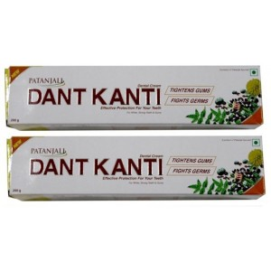 Buy Patanjali Dant Kanti Dental Cream (Pack Of 2) - Nykaa
