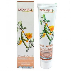 Buy Patanjali Dant Kanti Medicated Oral Gel - Nykaa