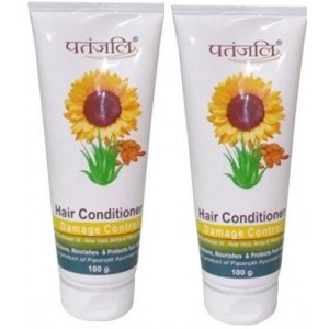 Buy Patanjali Damage Control Hair Conditioner  (Pack of 2) - Nykaa