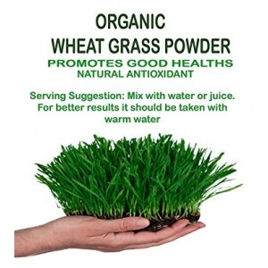 Buy NutraVigour Organic Wheat Grass Powder - Nykaa