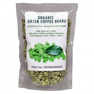 Buy NutraVigour Organic Decaffeinated Green Coffee Beans - Nykaa