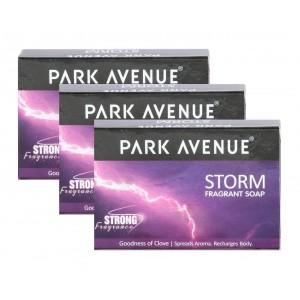Buy Park Avenue Storm Soap (Buy 2 Get 1 Free) - Nykaa