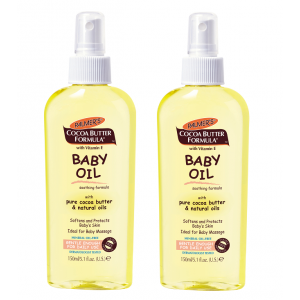 Buy Palmer's Cocoa Butter Formula Baby Oil Pack of 2 - Nykaa