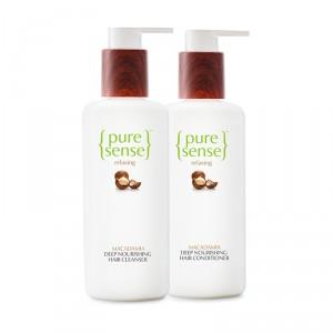 Buy PureSense Deep Nourishing Hair Treatment Cleanser + Conditioner Combo - Nykaa