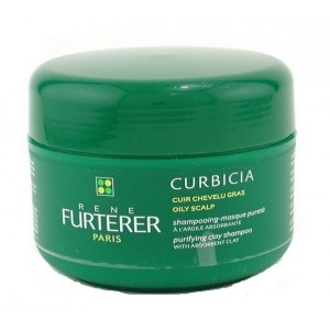 Buy Rene Furterer Curbicia Purifying Clay Shampoo (For Oily Scalp) - Nykaa