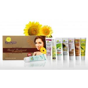 Buy RevAyur Facial Treatment(Set Of 8) - Nykaa