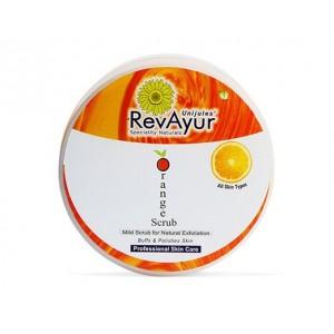 Buy RevAyur Orange Face Scrub - Nykaa