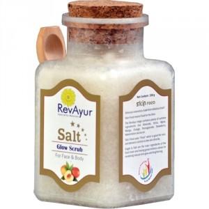 Buy RevAyur Salt Glow Scrub - Nykaa