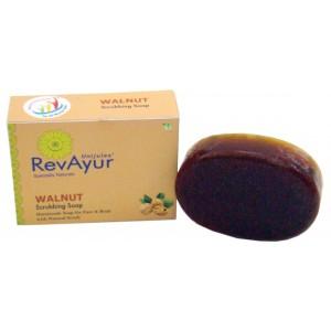 Buy RevAyur Walnut Scrubbing Soap - Nykaa