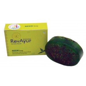Buy RevAyur Neem Soap - Nykaa