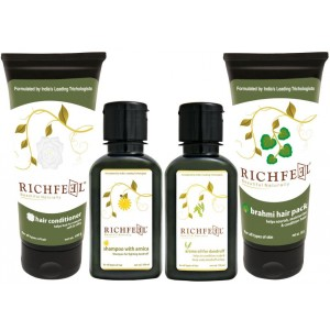 Buy Richfeel Anti Dandruff Combo Kit - Nykaa