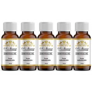 Buy R.K's Aroma Neem (Pack of 5) Essential Oil - Nykaa