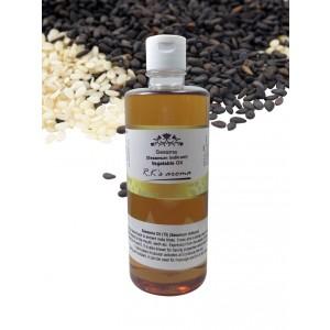 Buy R.K's Aroma Sesame (Black Till) Carrier Oil - Nykaa