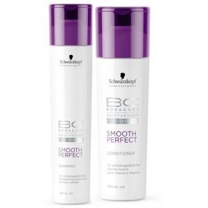 Buy Schwarzkopf Bonacure Smooth Shampoo and Conditioner - Nykaa
