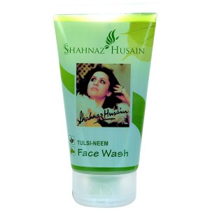 Buy Shahnaz Husain Tulsi Neem Face Wash  + Free Neem Skin Nourishing Cream Plus - Nykaa