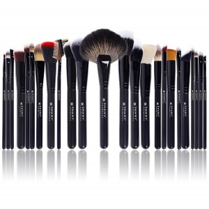 Buy Shany the Signature Collection Brush Set 24 Pcs Professional Set With Leatherette Pouch - Nykaa