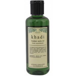 Buy Swati Khadi Brahmi Amla Tel Brain Nourishment  - Nykaa