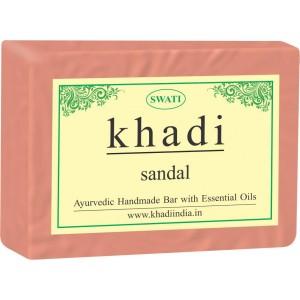 Buy Swati Khadi Sandal Soap - Nykaa