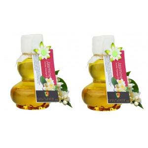 Buy Herbal Soulflower Jasmine Aroma Massage Oil (Buy 1 Get 1 Free) - Nykaa