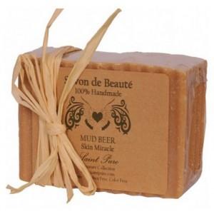 Buy Herbal Saint Pure Spa Mud Beer Skin Miracle Savon - Nykaa