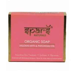 Buy Spars Naturals Organic Soap With Multani Mitti & Patchouli Oil - Nykaa