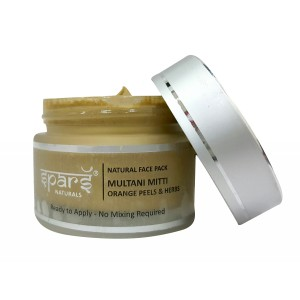 Buy Spars Naturals Multani Mitti Orange Peels & Herbs Face Pack - Nykaa
