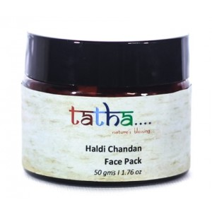 Buy Tatha Nature's Blessing Haldi Chandan Face Pack - Nykaa