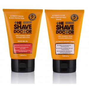 Buy The Shave Doctor Shave Gel Oil + Creme - Nykaa