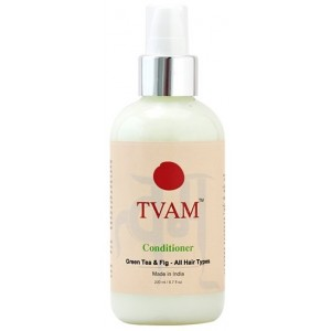Buy TVAM Green Tea & Fig Hair Conditioner - Nykaa