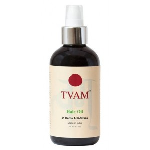 Buy TVAM 21 Herbs Anti Stress Hair Oil - Nykaa