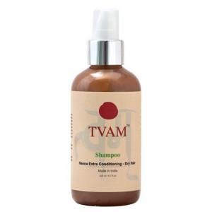 Buy TVAM Henna Extra Conditioning Dry Hair Shampoo - Nykaa